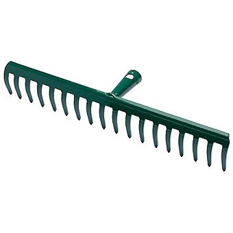 Maiol Steel Rake 18 Teeth (Garten , Gartenarbeit , Tools , Harke)