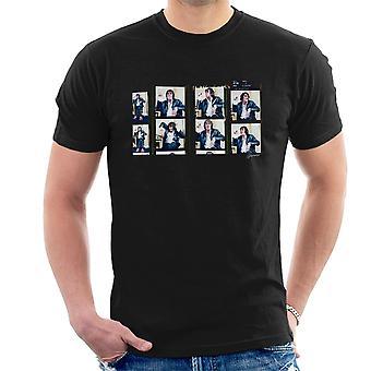Howard markeert heer mooie foto Reel Montage T-Shirt voor mannen