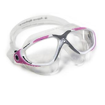 Aqua Sphere Ladies di Vista nuotare occhiali bianco/rosa-chiaro obiettivo