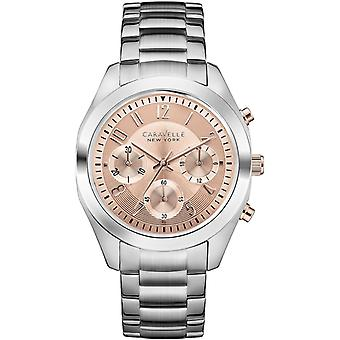 Caravelle New York Melissa Ladies' Chronograph Watch 45L143