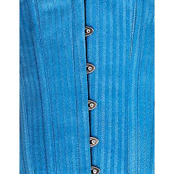 Mio Corset Elsie Blue Stripe Underbust Corset AIC-01-137