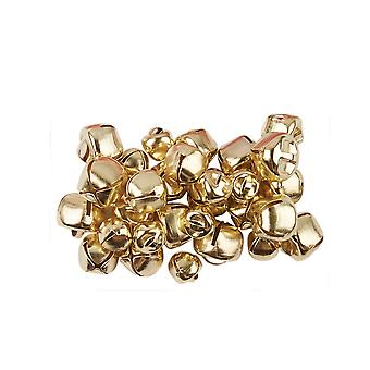 30 Gold Assorted Size Jingle Bells for Crafts 8mm - 12mm