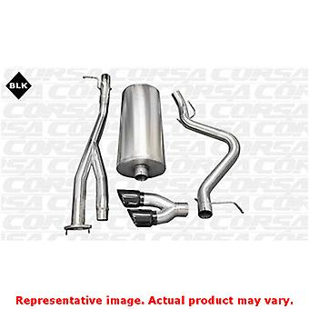 CORSA Performance Cat Back Exhaust 14279BLK Black Fits:CHEVROLET 2003 - 2006 SI