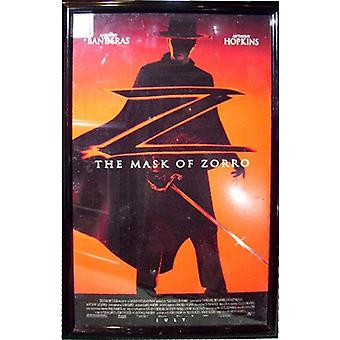 The Mask of Zorro - Signed Movie Poster