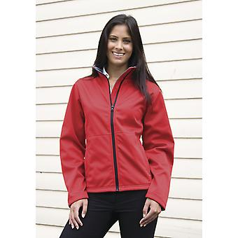 Resultaat Core dames Soft Shell jas-R209F