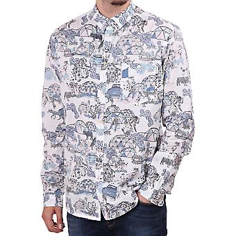 Paul Smith Jeans Tailored Fit Camping Shirt