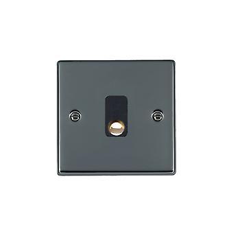 Hamilton Litestat Hartland Black Nickel 20A Cable Outlet BL