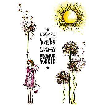 Carabelle Studio Cling Stamp A6-Revealing A Whole New World SA60317E