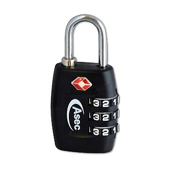 ASEC ASEC TSA Combination Padlock 30mm