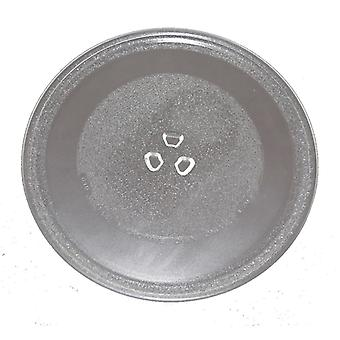 Universal Microwave Turntable Glass 255mm Fits Morphy Richards Universal