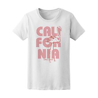 California Pink Flaminco Tee Frauen-Bild von Shutterstock