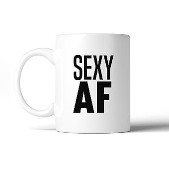 Sexy AF 11 Oz taza cerámica lindo ejercicio gráfico Gag regalos