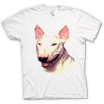 Mens T-shirt - English Bull Terrier - Pet Dog