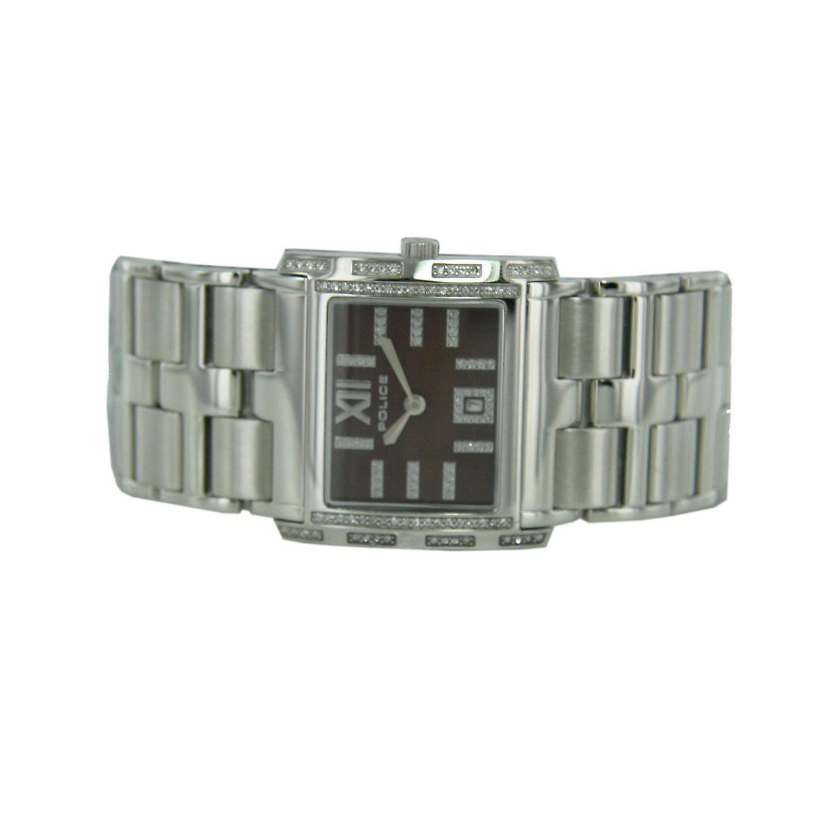 Police ladies watch wristwatch stainless steel analog Belle PL. 11183BS / 40 M