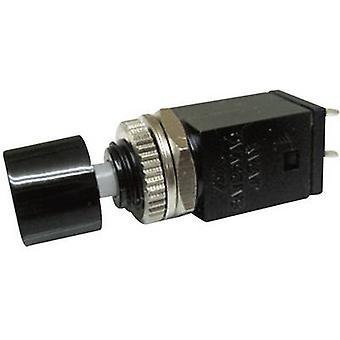 Miyama DS-410, BK Pushbutton 125 V AC 3 A 1 x Off/(On) momentary 1 pc(s)