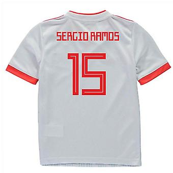 2018-2019 Spagna Away Adidas Mini Kit (Sergio Ramos 15)