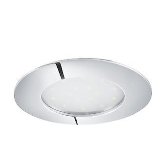 EGLO infällda LED Spott 102 Chrome Pineda