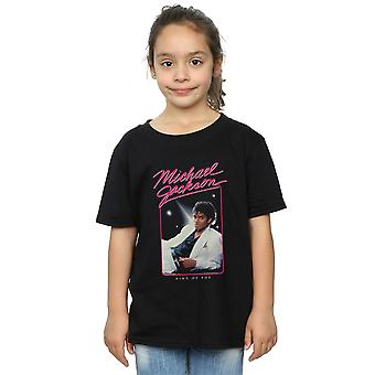 Michael Jackson Girls King of Pop Photo T-Shirt