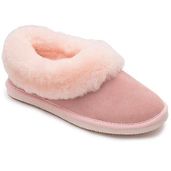 Padders Cuddle Womens Suede Slippers