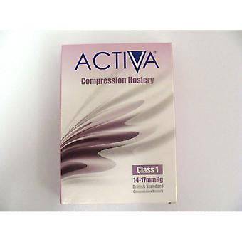 Activa Compression Tights Tights Cl1 Stock Thigh Honey 259-0347 Med
