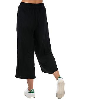 Womens adidas Originals Styling Complements Ribbed Pants In Black