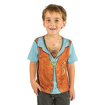 Costume d'enfant chemise T-Shirt hippie garçon hippie Hippiejunge costume enfant kids