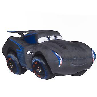 Biler 3 biler Jackson Storm store udstoppede dyr Plys udstoppet legetøj ca40cm
