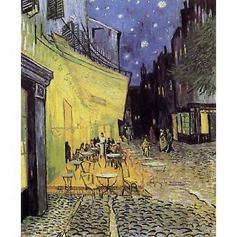 Cafe Tarrasse by night, Vincent Van Gogh, 81x65cm