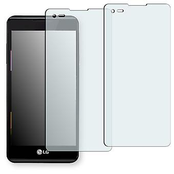 LG X style screen protector - Golebo crystal clear protection film