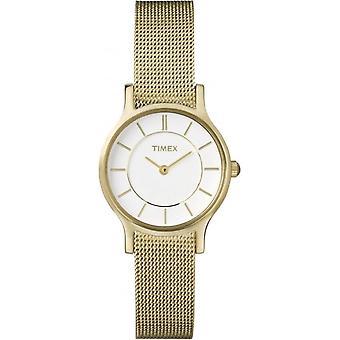 Ladies Gold Tone Classic Slim Watch