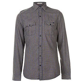 ONeill Mens flanelle chemise manches longues Casual coton poche poitrine vérifié Fold