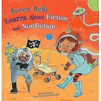 Gelangweilt Bella lernt Belletristik und Sachbücher
