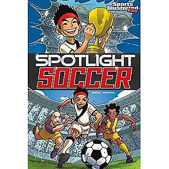 Fútbol (deportes niños ilustrada novelas gráficas) del proyector