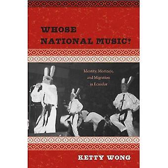 ¿Cuya música nacional?