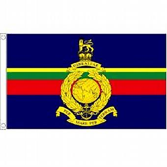 Royal Marine flagg 5 ft x 3 ft (100% Polyester) med hull For hengende