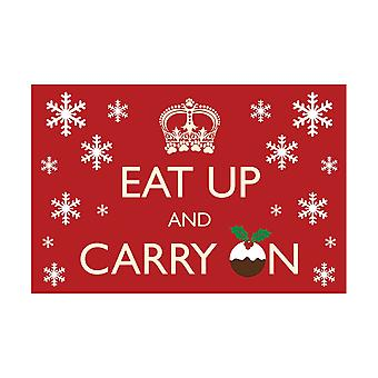Pet Rebellion Christmas Dinner Mat