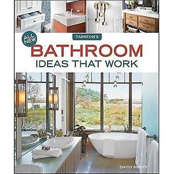Toutes les nouvelles idées de salle de bain qui fonctionnent (idée livres)