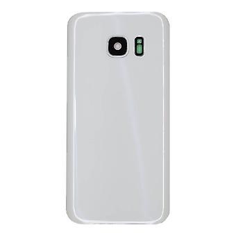 Weiße Rückseite Samsung Galaxy S7