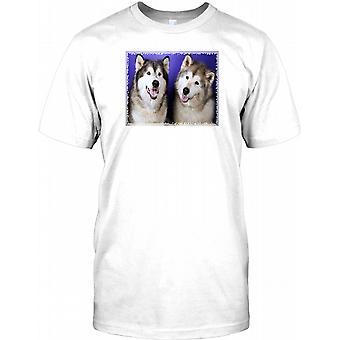 Siberian Husky - Cool Hund-Herren-T-Shirt
