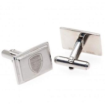 Arsenal FC Boxed Stainless Steel Cufflinks