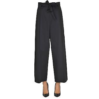 Seventy Black Cotton Pants