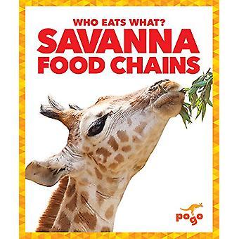Savanna Food Chains by Rebecca Pettiford - 9781620315729 Book
