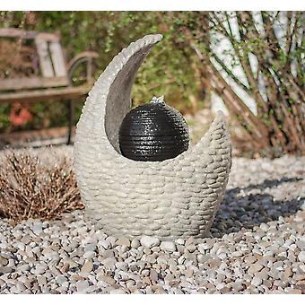 Brunnen Springbrunnen Gartenbrunnen FoStones II 60x47x36 cm 10876