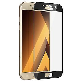 Ultra-resistente filme de vidro temperado Samsung Galaxy a5 2017 lados curvados-preto