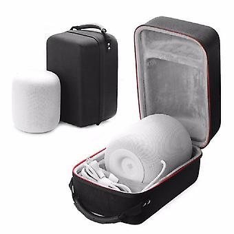 Eva shockproof carry storage hard speaker case for apple for homepod wireless bluetooth speakers bag