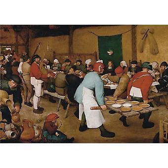 Piatnik Bruegel chłopskie wesele Jigsaw Puzzle (1000 sztuk)