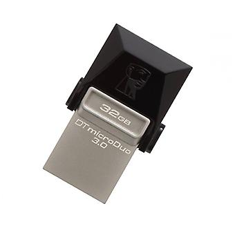 Kingston DTDUO3 32 GB USB flash drive and micro USB 3.0 black grey