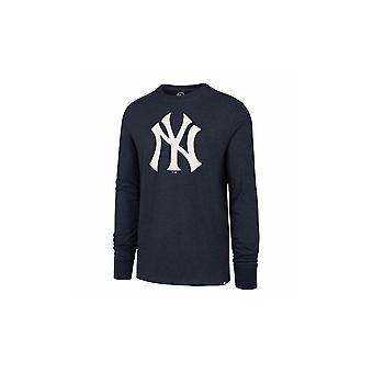 '47 Mlb New York Yankees Line Up Mvp Club Long Sleeve T-shirt