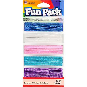 Fun Pack Stretch Cord ? Spools Pkg Sparkle 34734227