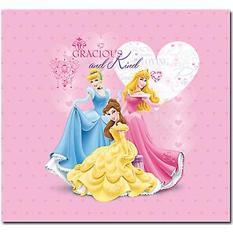 Princess Glitter & Embossed Cover Postbound Scrapbook Album 12